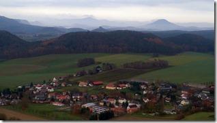 Aussicht über Pfaffendorf