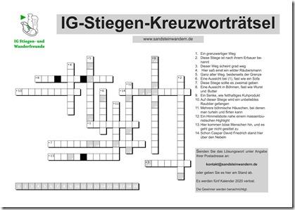 Kreuzwort 1